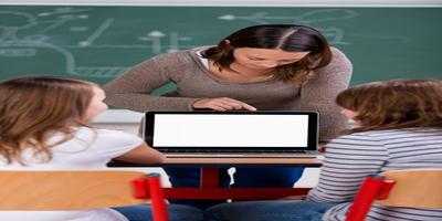 teaching on computer