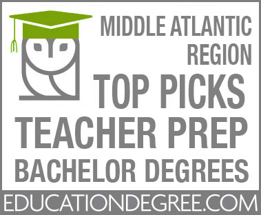 M2021 – Top 90 Most Affordable Bachelor's in Education Teacher Certification Programs in the Mid-Atlantic Region Educationdegree.com